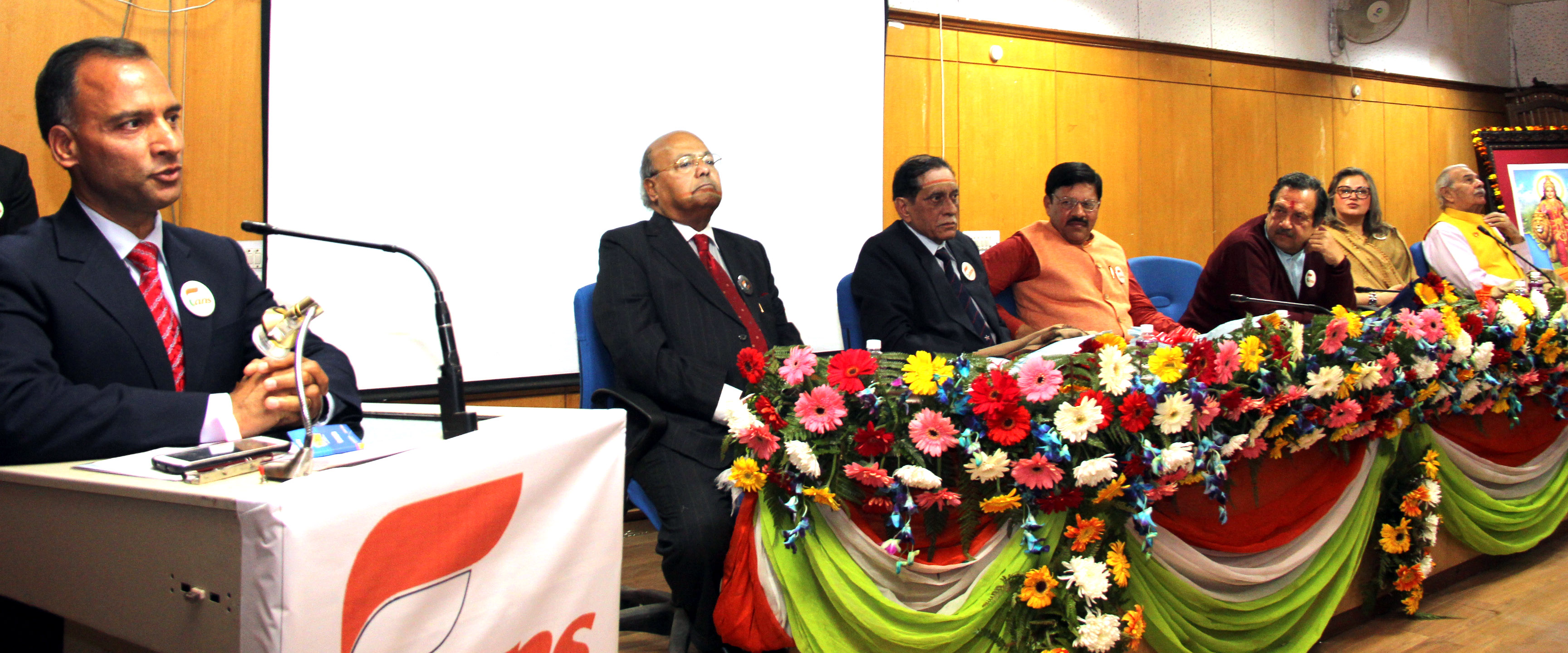 The Adviser to the Administrator, UT, Chandigarh, Mr. Vijay Dev  addressing as Guest of Honour at the inauguration of Proxy War Through Drugs Seminar in Golden Jubilee Hall Panjab University Chandigarh on Wednesday, February 10, 2016.