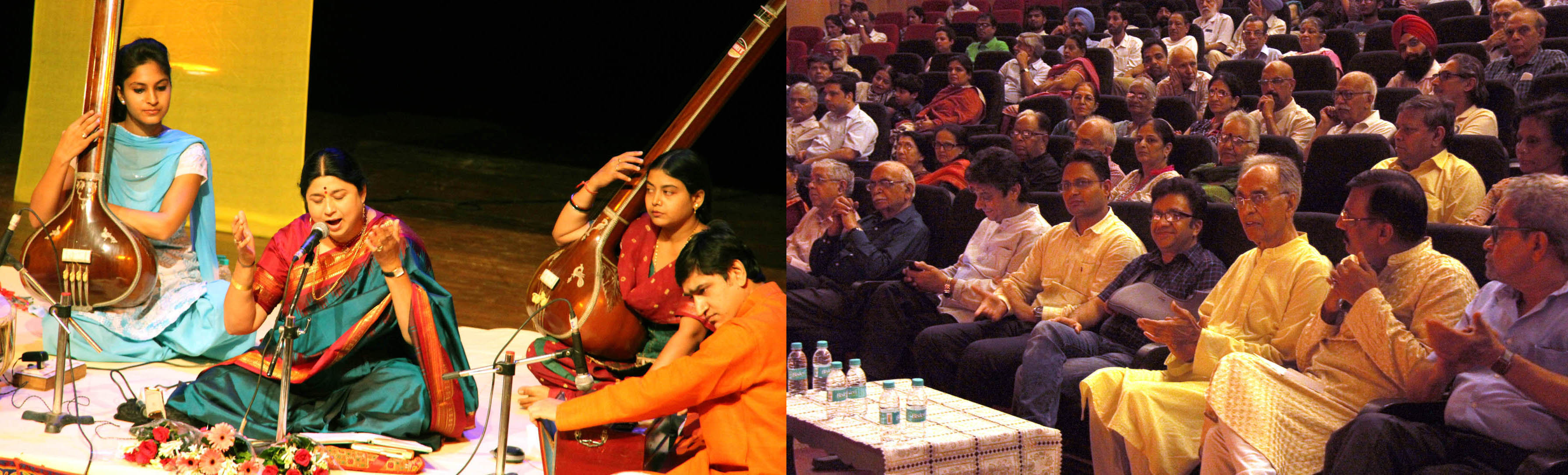 UT Home Secretary, Shri Anurag Agarwal alongwith senior officers witnessing the �Classical Music Concert� by Vidushi Kalapani Komkali at Tagore Theatre, Sector-18, Chandigarh on Thursday, July 21, 2016.